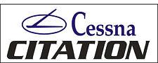 A049 Cessna Citation Airplane banner hangar garage decor Aircraft signs