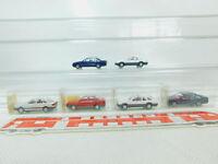 BN103-0,5# 6x Wiking H0/1:87 PKW-Modell: 204 Ford+082 Opel+121 Audi, NEUW+4x OVP