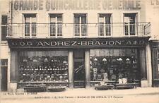 CPA 88 SAINT DIE GRANDE QUINCAILLERIE GENERALE ANDREZ BRAJON RUE THIERS