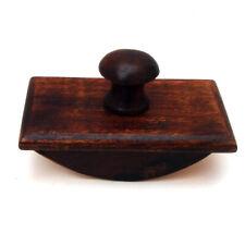 Wood wooden Rocker Desk ROCKING INK BLOTTER Antique Rep