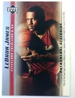 2003 03-04 Upper Deck Phenomenal Beginning LeBron James Rookie RC #10, Cavs MVP