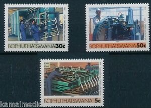 Bophutatswana South Africa MNH 1985, Milk Processing Industry, Painting