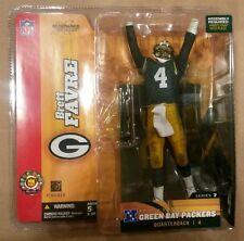 McFarlane Sportspicks NFL ser 7 BRETT FAVRE action figure-Green Bay Packers-NIB