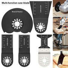 5pcs Multi Tool Oscillating Saw Blades Set For Fein Bosch Multimaster Makita Uk