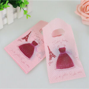 Wholesale 100pcs 9*15cm Pink Small Plastic Pouches Birthday Gift Packaging Bags