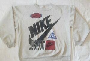 Vtg Nike Sweatshirt XL Acg Air Just do it! Swoosh
