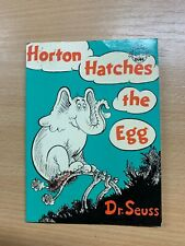 "1979 DR SEUSS ""HORTON HATCHES THE EGG"" SMALL THIN PAPERBACK BOOK (P1)"