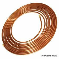 10 Metre Coil of 8mm Table W Microbore Copper Tube 10M Roll TW Unit Quantity 1