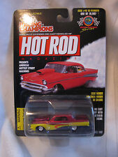 RACING CHAMPIONS  HOT RODS MAGAZINE ISSUE#48 63 PLYMOUTH