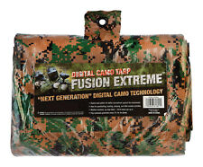 "WOODLAND GREEN Digital CAMO Medium Duty Poly Tarp 11' 4"" X 15' 6"" CAMOUFLAGE"