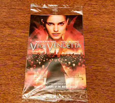 V FOR VENDETTA Movie Promo Postcard Set-Natalie Portman/Hugo Weaving-SDCC 2006