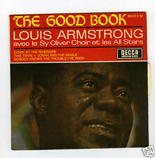 45 RPM EP LOUIS ARMSTRONG SY OLIVER CHOIR DOWN BY THE RIVERSIDE