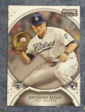 2011 BOWMAN STERLING ANTHONY RIZZO ROOKIE CARD #20