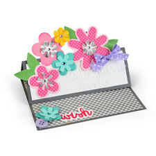 Sizzix Stanze Thinlits Flower Layers & Leaf 660146