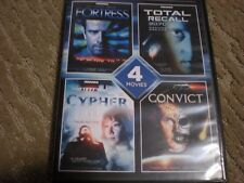 Fortress, Cypher, Convict DVD Cover: 4 Movies