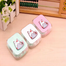 Travel Portable Cute Animals Contact Lens Solution Box Storage Container Holder