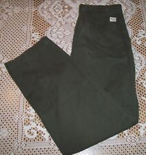 Royal Robbins Outdoor Travel Clothing Cargo Pant sz 32 x 32 Forest Green Cotton
