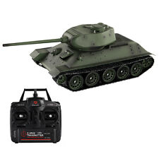 1:16 2.4G T34/85 Russian Army RC Battle Tank Smoke & Sound Radio Remote Control