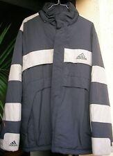 Parka Adidas Taille 168 cm (14 ans) Gris-Bleu avec capuchon EXCELLENT ETAT