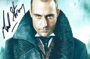 Genuine - Mark Strong   Signed Photo 5x3