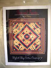 """Four and Twenty"" Lap Quilt Pattern Bigfork Bay Cotton Company NEW Lynn Stalowy"