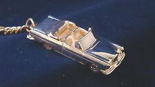 Schlüsselanhänger Mercedes W111  280SE Cabrio versilbert 5113