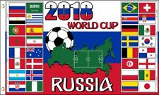 World Cup 2018 Groups Flag 3x5 ft Countries Teams Country Soccer Football Russia