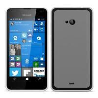 Dünn Slim Cover Microsoft Lumia 540 Handy Hülle Silikon Case Schutz Tasche