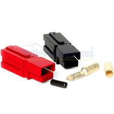 75 Amp Unassembled Red/Black Anderson Powerpole Complete Connectors (2 sets)