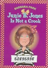Junie B. Jones Is Not A Crook (Junie B. Jones 9, Library Binding)-ExLibrary