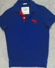 Abercrombie & Fitch Vintage Muscle Polo Shirt_ Size Small