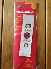 Hello Kitty Bookmark Cross Stitch  Kit