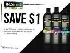 save on TRESEMME Shampo Conditioner + Bonus [Canada]