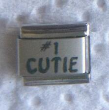 """""""#1 CUTIE"""" 9MM CHARM-ADORABLE, SWEET, ANGELIC"""