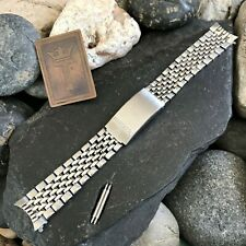 rare Eterna Beads of Rice 18mm Stainless Steel Vintage Watch Band