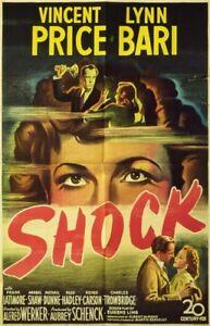 Shock 1946 Vincent Price, Lynn Bari Film-Noir DVD
