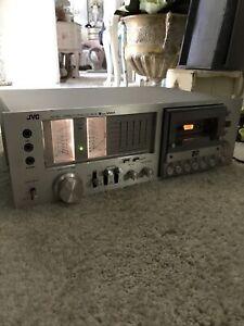 Vintage JVC KD 85 Cassette Deck Stereo 1978