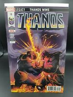 Thanos #18 Main Cover A 1st Print Donny Cates Marvel Legacy 2018 Reader Copy