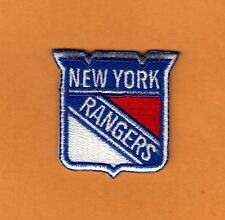 NEW YORK NY RANGERS Small LOGO PATCH HAT POLO SHIRT BABY ITEM IRON ON Unsold Stk