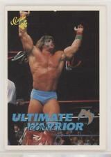 1989 Classic WWF Ultimate Warrior The #106 Rookie HOF