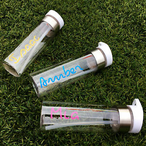 Personalized Water Bottle personalised with your name for gym sunny summer hols