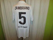 FC St.Pauli DoYou Football Auswärts Trikot 2010/11 + Nr.5 Zambrano Gr.XL TOP