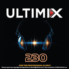 Ultimix 230 CD Justin Timberlake Meghan Trainor Calvin Harris Zayn Janet Jackson