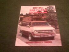 1981 GMC RALLY STX / RALLY / GAUCHO PEOPLE VAN  - USA BROCHURE Chevy Chevrolet