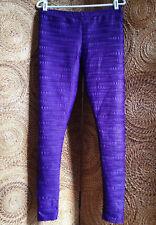 916c3107a15c75 ASOS Pants Leggings Womens 8 Purple Beautifully Textured
