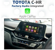 TOYOTA C-HR _ Factory Audio integrated Apple CarPlay - Plug and Play install