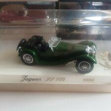 Solido Age d'or - Vintage Jaguar SS 100 - 4002 Green Cased