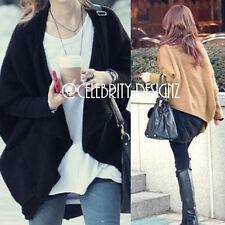 Cotton Blend Medium Knit Solid Regular Jumpers & Cardigans for Women