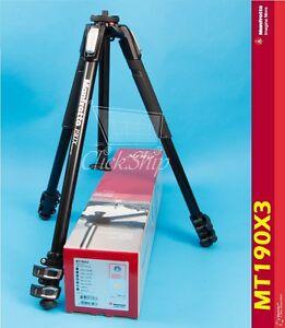 Manfrotto MT190X3 Aluminum Tripod Mfr # MT190X3