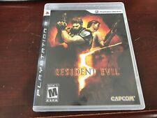Resident Evil 5 (Sony PlayStation 3, 2009) Complete